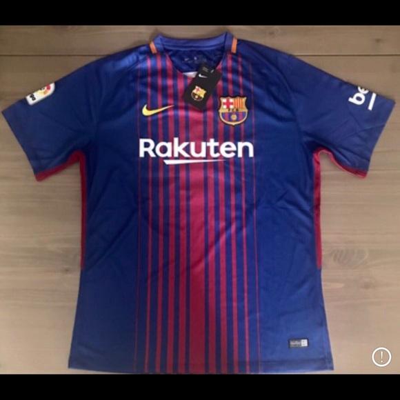 huge discount 59a64 8bfea Barcelona Messi #10 soccer jersey liga /Beko Men NWT